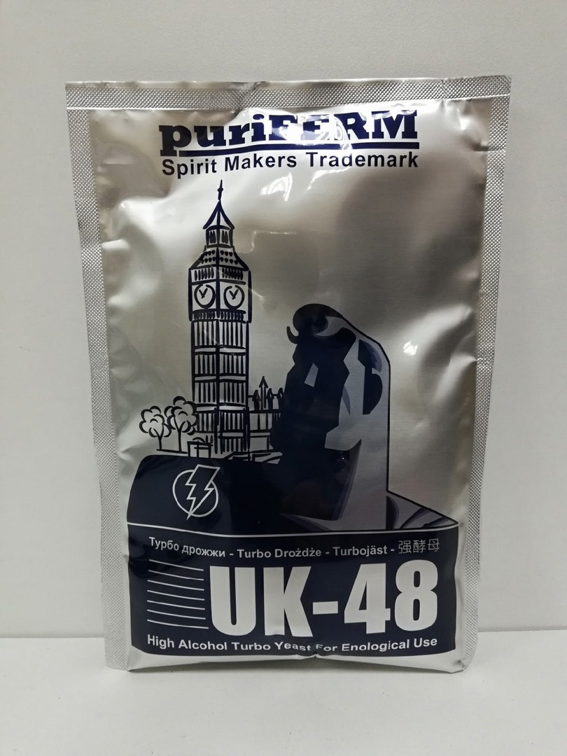 Дрожжи puriFERM UK-48 High Alcohol Turbo