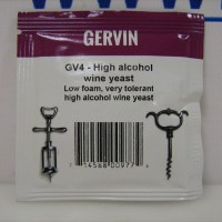 Винные дрожжи Gervin GV4 High Alcohol Wine 5 гр.