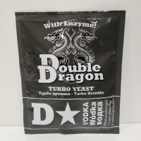 Дрожжи Double Dragon D-Star Vodka Turbo с глюкоамилазой 68 гр.